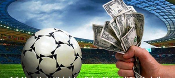 Trik Menghindari Kekalahan Dalam Main Judi Bola Terbaik
